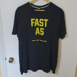 "Nike ""Fast As"" T Shirt XL"